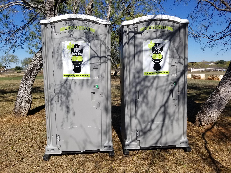 San Antonio rental portable restroom