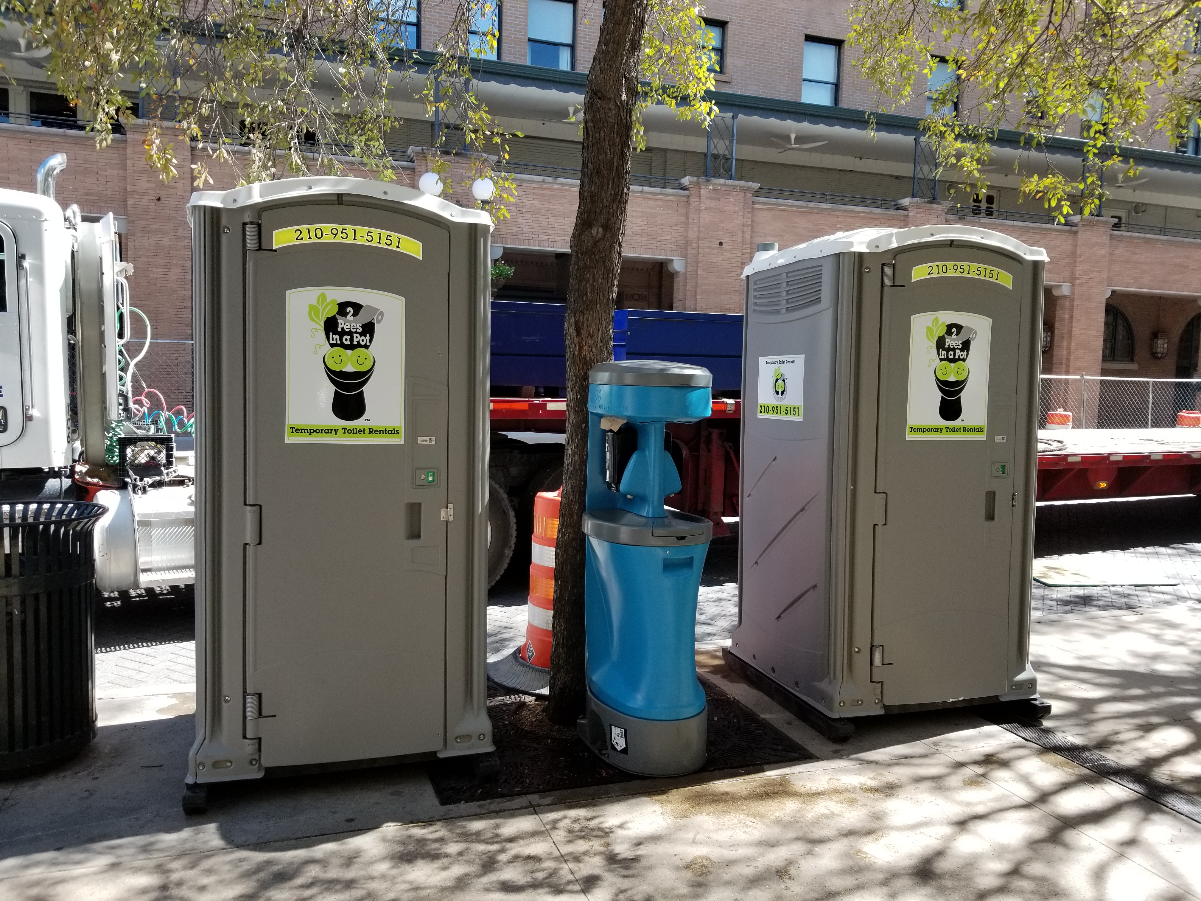 temporary toilet rentals